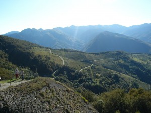 Morning light on Col d'Aspin